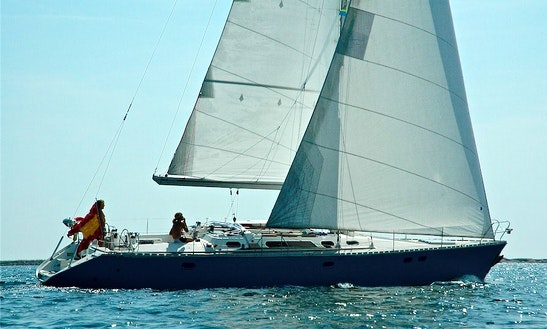 Sailing Charter Sun Odyssey 51 Hire In Sant Antoni De Portmany