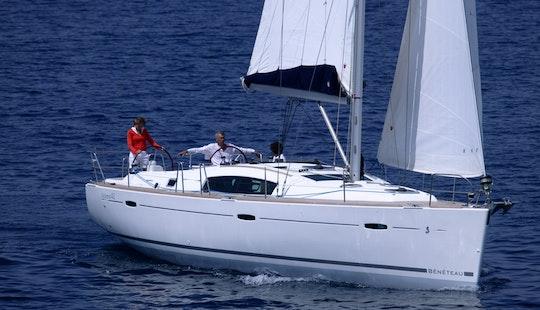 Sailing Charter Oceanis 43 Hire In Sant Antoni De Portmany