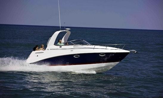 Rinker Ec 260 Motor Yacht Charter In Vasco Da Gama