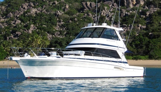 Great Barrier Reef 48′ Riviera Fishing Charter