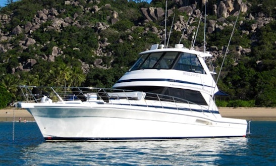 Great Barrier Reef 48′ Riviera Boat Charter