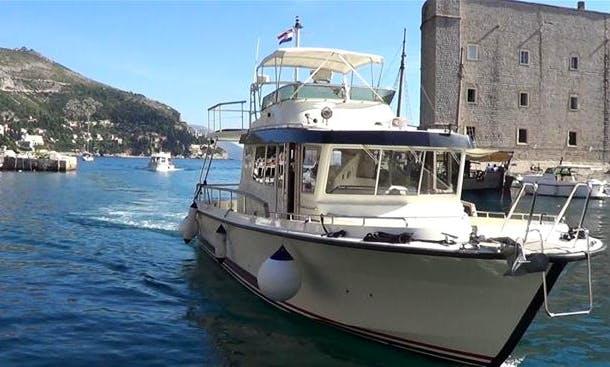 Targa 44 Power Motor Yacht Charter in Lumbarda, Croatia