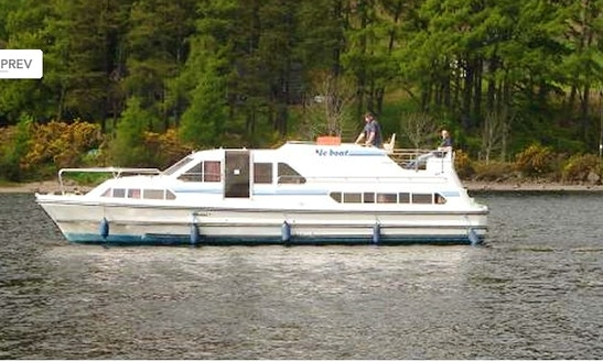 Motor Cruiser Le Boat Crusader Class Hire In Scotland
