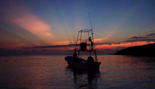 Deep Sea Fishing In Roatán, Honduras