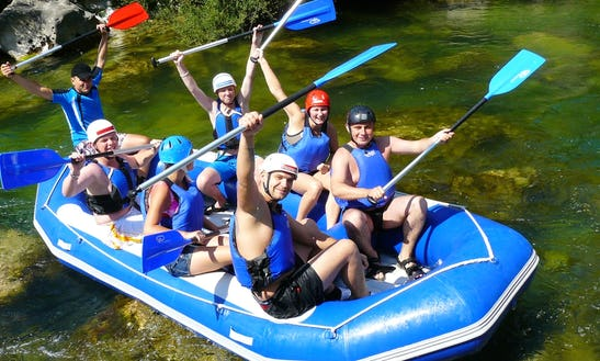 Rafting In Croatia Omiš River