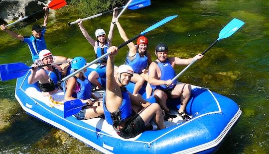 Rafting In Croatia Omiš River