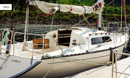 Sailing Charter Sigma 33 Hire In Scotland