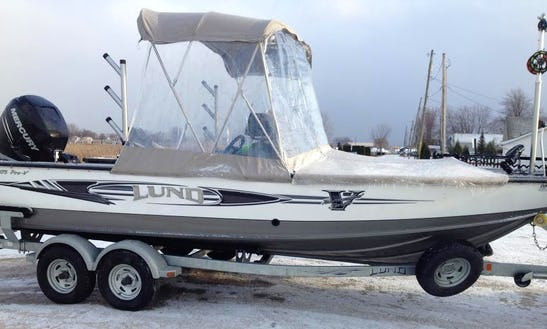 22' Lund 2075 Pro V​ Boat For Casting & Jigging In New Baltimore