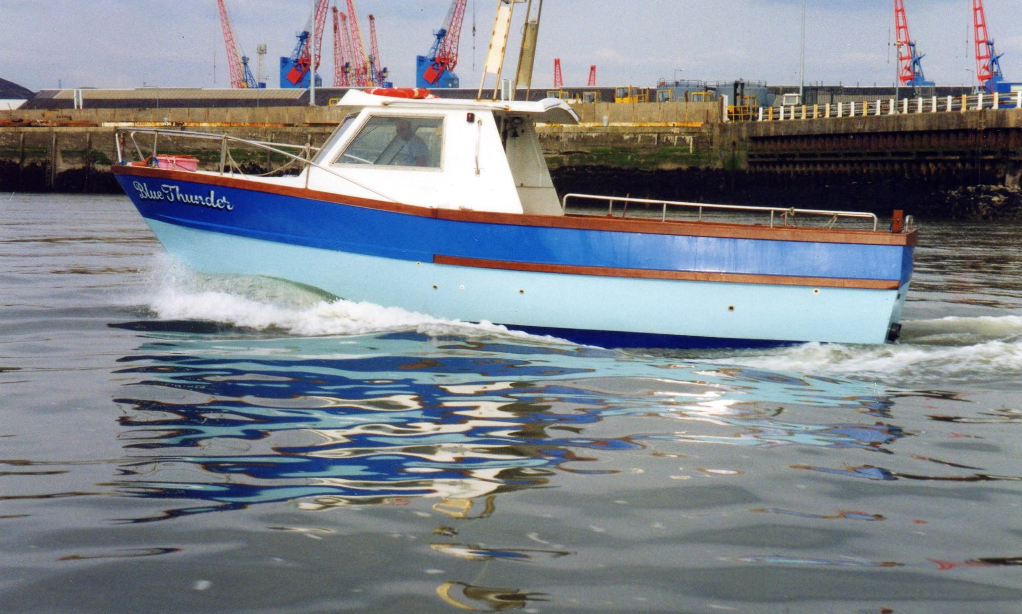 Passenger Boat Rental in Swansea