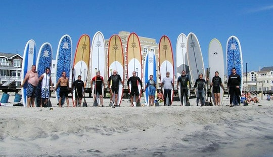 Stand Up Paddle Surfing In Pleasantville