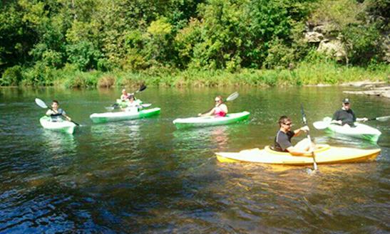 Kayak Tours In River Falls Wisconsin