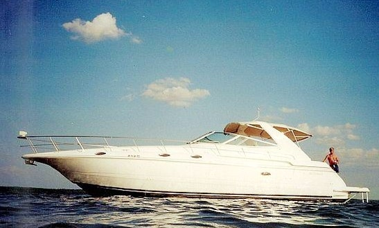 The 4270 Cruiser Yacht Charter In St Thomas