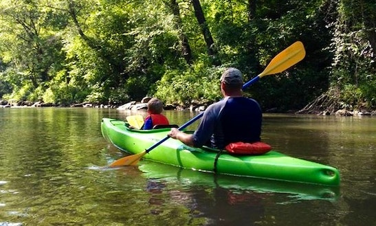 Single Kayak Rental In Dahlonega