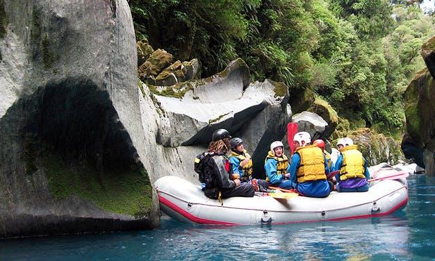 EcoRafting in Hokitika New Zealand