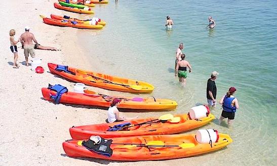 Double Kayak Rental In Portonovo, Italy