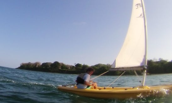 Kids Sailing Dinghies In Kilifi