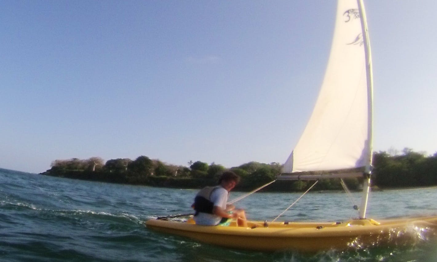 Kids Sailing Dinghies in Kilifi