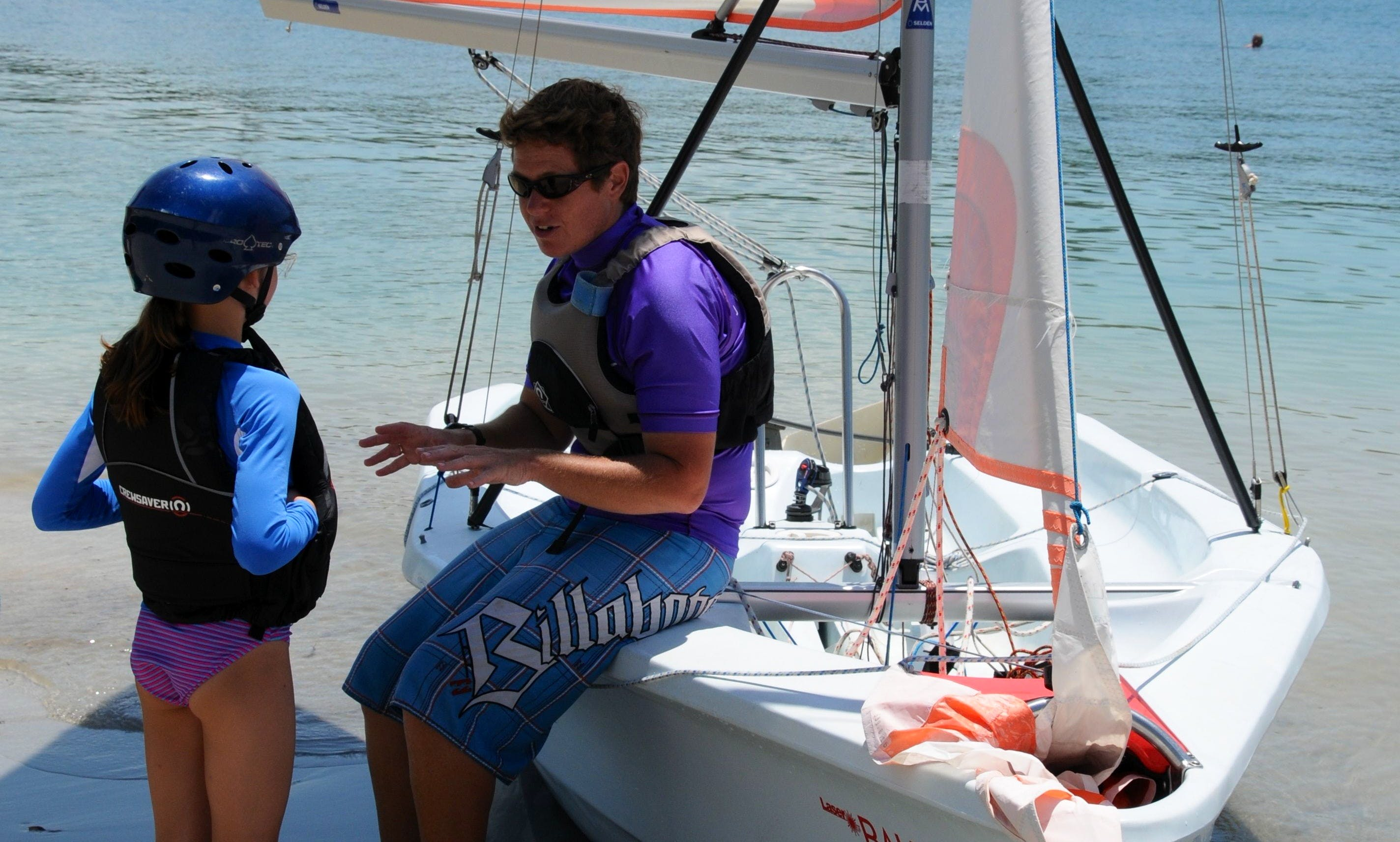 Family & Intermediate sailing in Kilifi