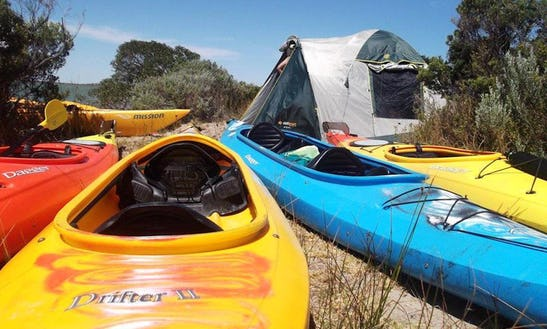 Family Friendly Double Kayak In Goolwa