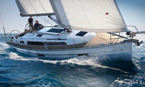 37ft Bavaria Cruiser Boat Rental in Barcelona, Spain