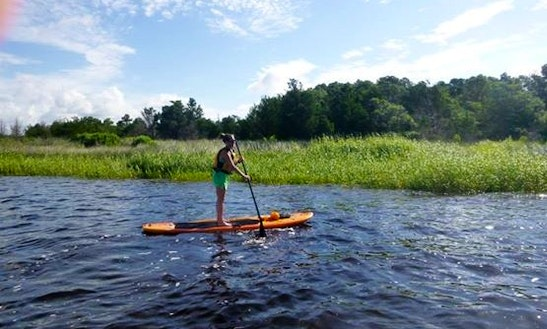 Rent Stand Up Paddleboard In Carolina Beach
