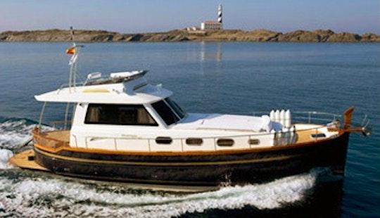 Menorquin Yacht 145 Hire In Mahón