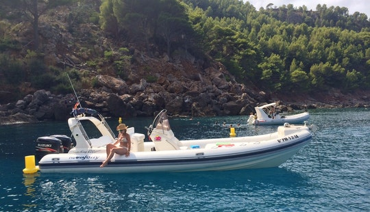 Nuova Jolly King 820 Extreme Rib Rental In Port D'andratx, Spain