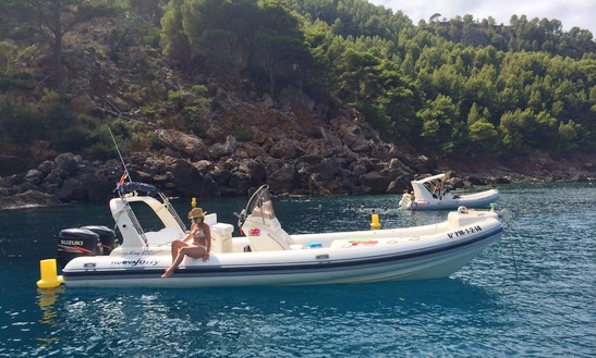 Nuova Jolly King 820 Extreme Rib Rental In Port D'andratx, Spain