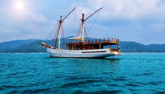 Bugis Phinisi Schooner Charter In Koh Samui