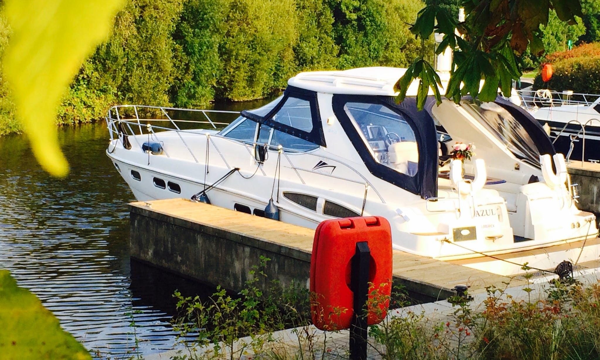 Luxury Motor Yacht Charter to Tour Killaloe