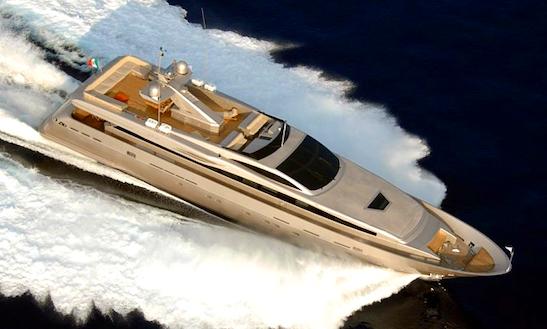 130' Charter In Mediterranean Motor Yacht Aqua
