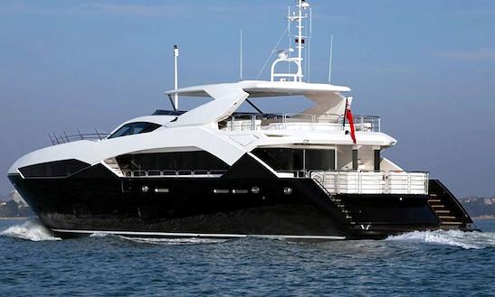 Charter In Mediterranean 113' Motor Yacht Chimera
