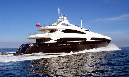 Motor Yacht Devocean Charter In Mediterranean