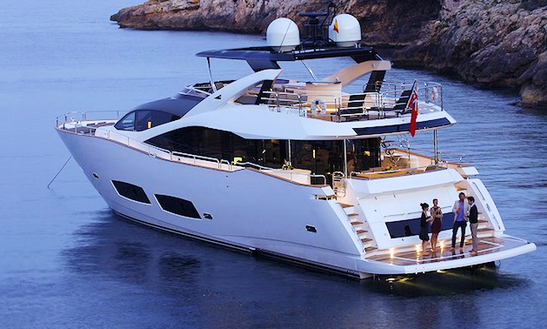 High Energy Motor Yacht Charter In Mediterranean