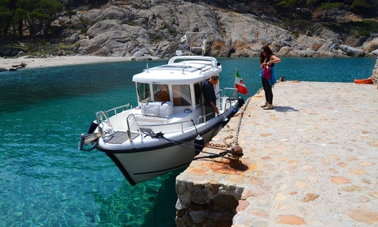Island Tours Around Capraia On Motor Yacht Charter