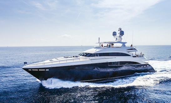Luxury Mega Yacht Charter Solaris In Mediterranean