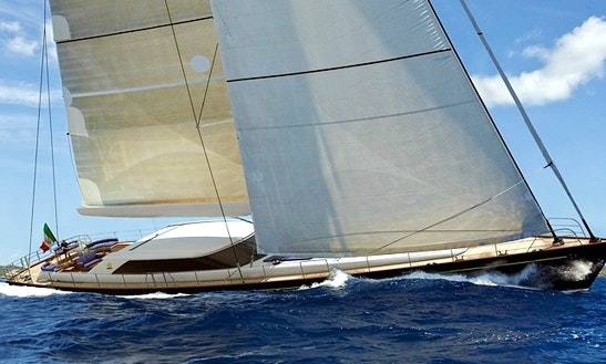 Luxury Sailing Mega Yacht Charter State Of Grace In Mediterranean