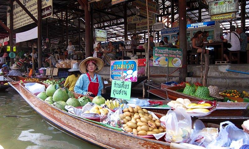 Floating Market Tour in Bangkok