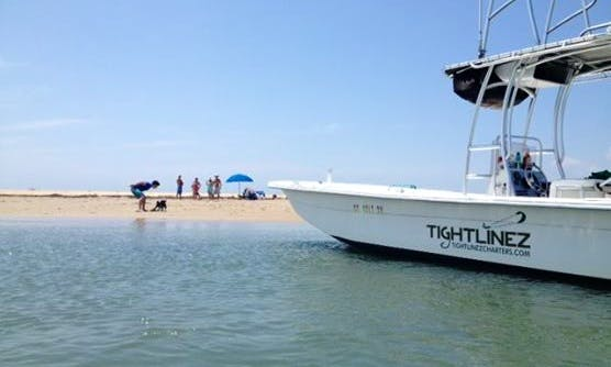 Enjoy Fishing In Kinnakeet, North Carolina On 23' Carolina Center Console