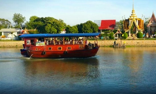 The Rice Barge Cruise In Ayutthaya, Thailand