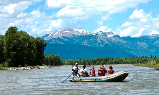Scenic Float Trips In Jackson, Wyoming