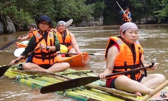 Bamboo Rafting In Siburan