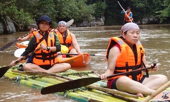 Semadang Bamboo Rafting In Siburan