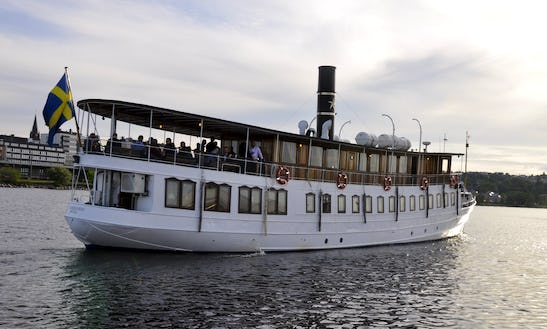 Cruise On This Culture Boat In Gothenburg