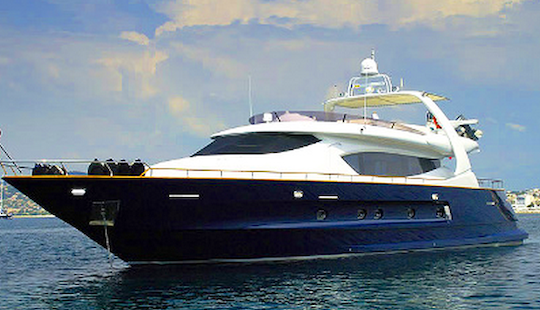 French Charter Power Mega Yacht