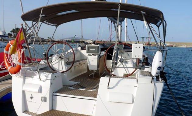 Sun Odyssey 409 Yacht Charter in Spain