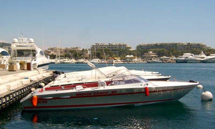 Exo 7 Motor Yacht Charter in Sainte-Maxime