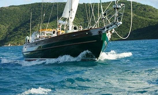 Sail 'bravura'  Hans Christian 48 In Spanish Town