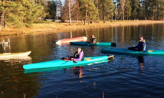 Explore Jyväskylä, Finland On A Kayak With Friends!