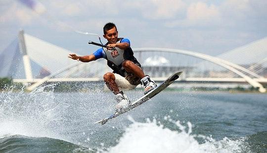 Waterski, Wakesurfing And Wakeboarding In Putrajaya